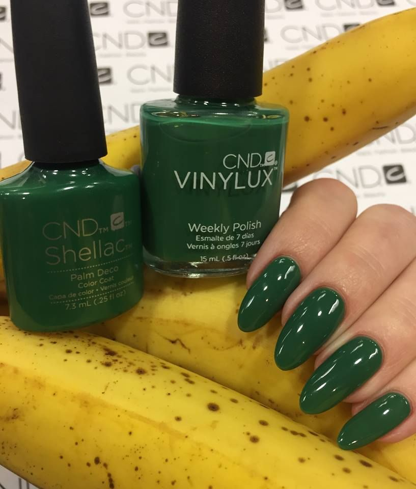 CND Shellac Rhythm & Heat: Palm Deco | nail inspiration | Pinterest ...