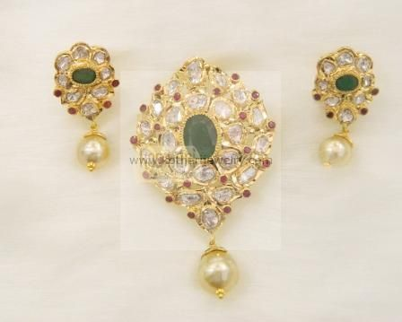 ke women for proddetail at case pendant rs gold piece velvetcase yellow sone velvet