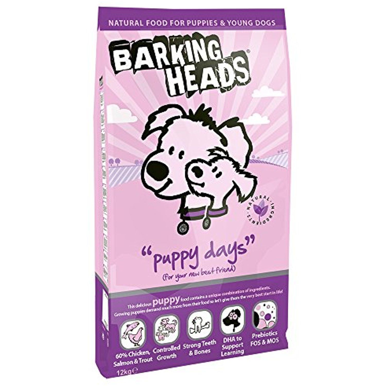 Barking Heads Puppy Days Croquettes Pour Chien Poulet Saumon