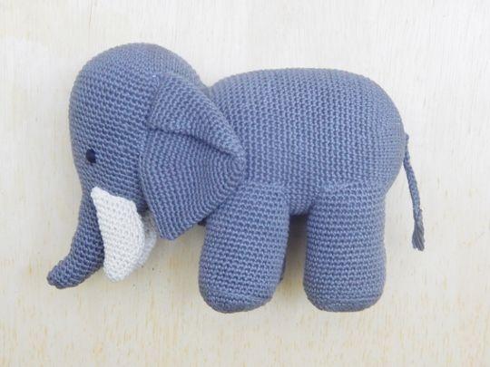 Amigurumi Elefante - Ideias e tutoriais | 405x540