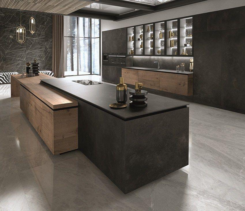 Snaidero met en avant la culture du projet design - Refaire sa cuisine rustique en moderne ...