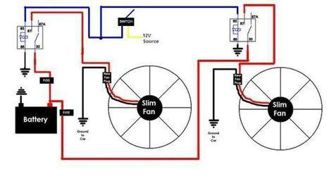 electric fan relay wiring diagram diy fan relay for you car repair  automotive repair  auto repair  diy fan relay for you car repair