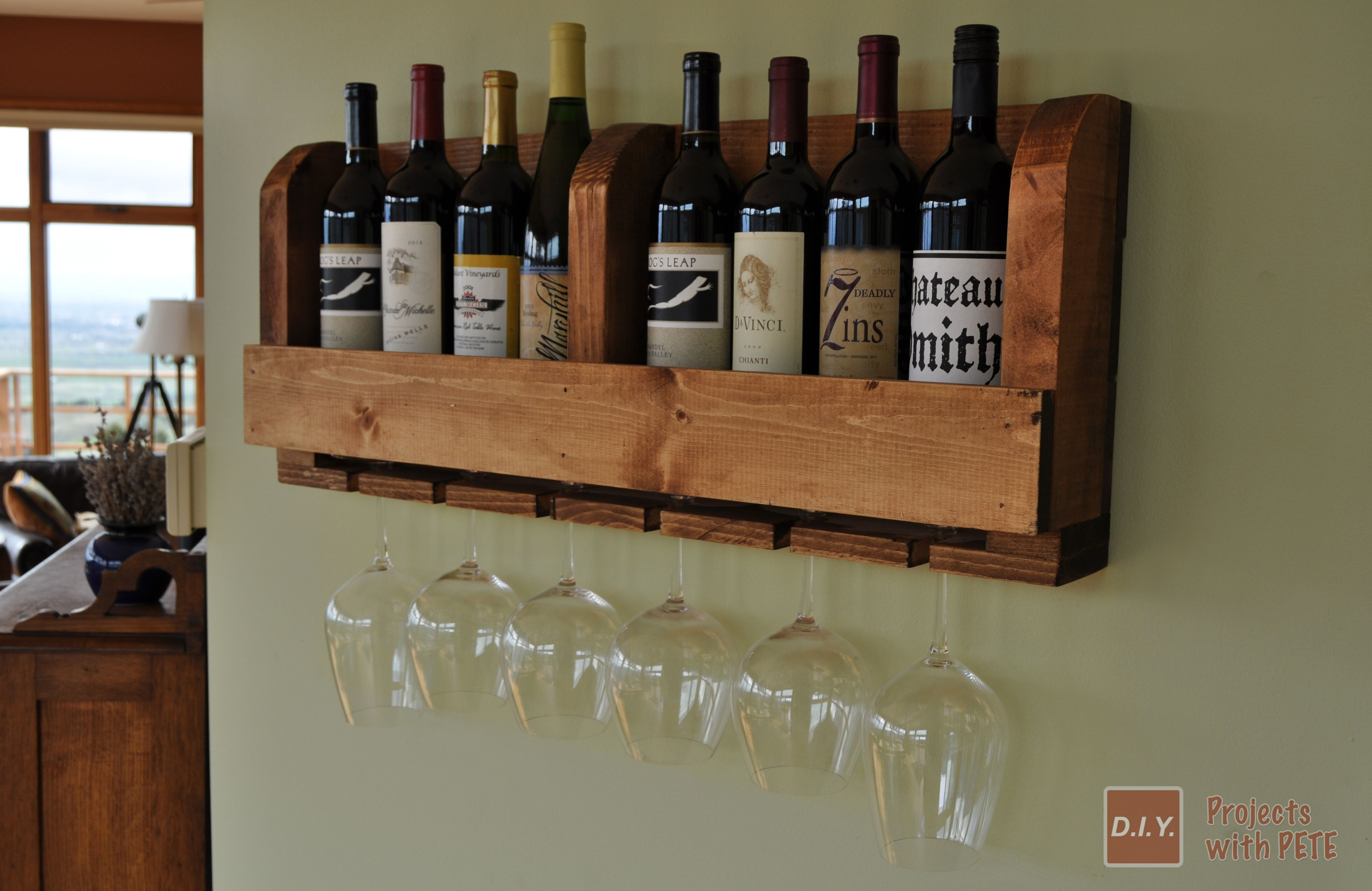 Small Wine Stand Build A Wine Rack With Diy Pete Minwax Blog Woodworking Wine
