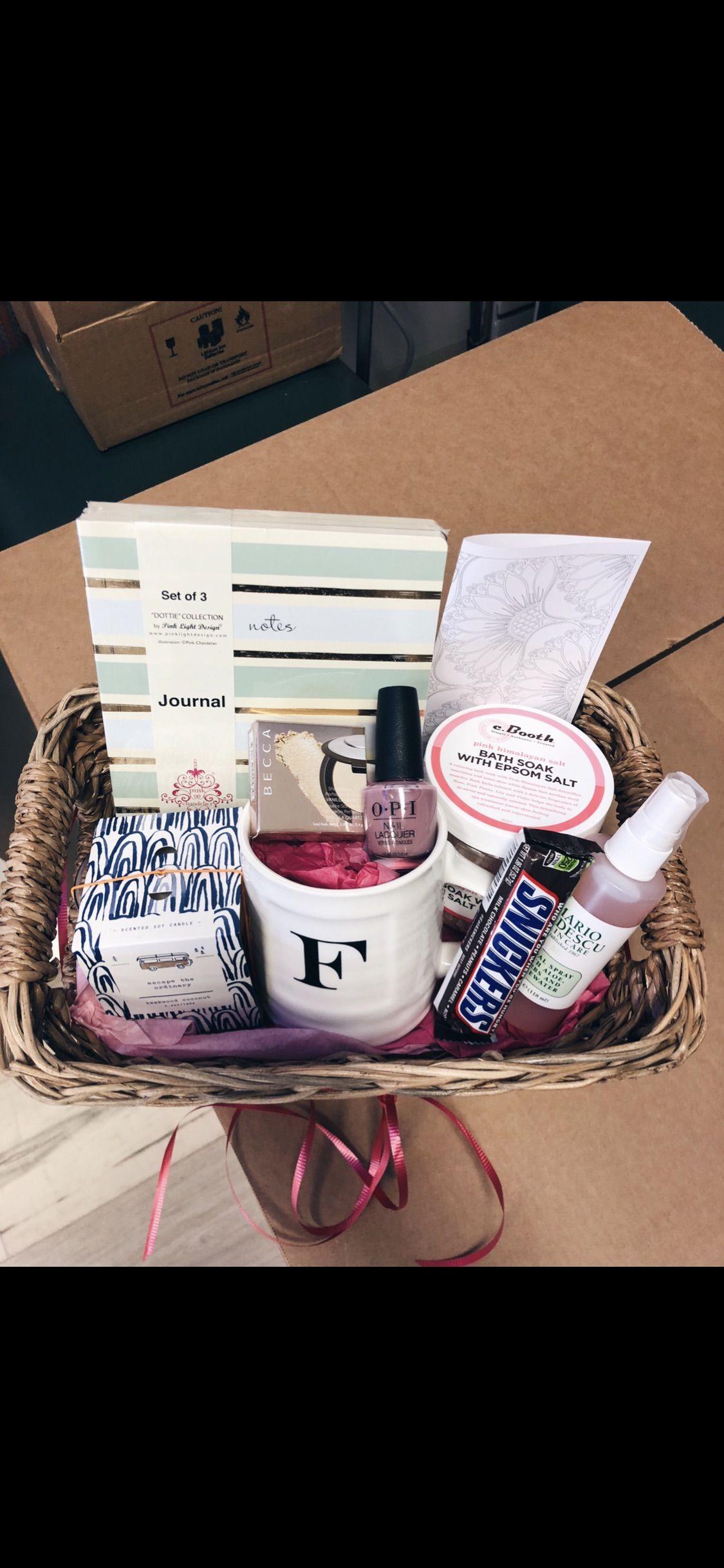 Boyfriends Mom Gift Basket Birthday