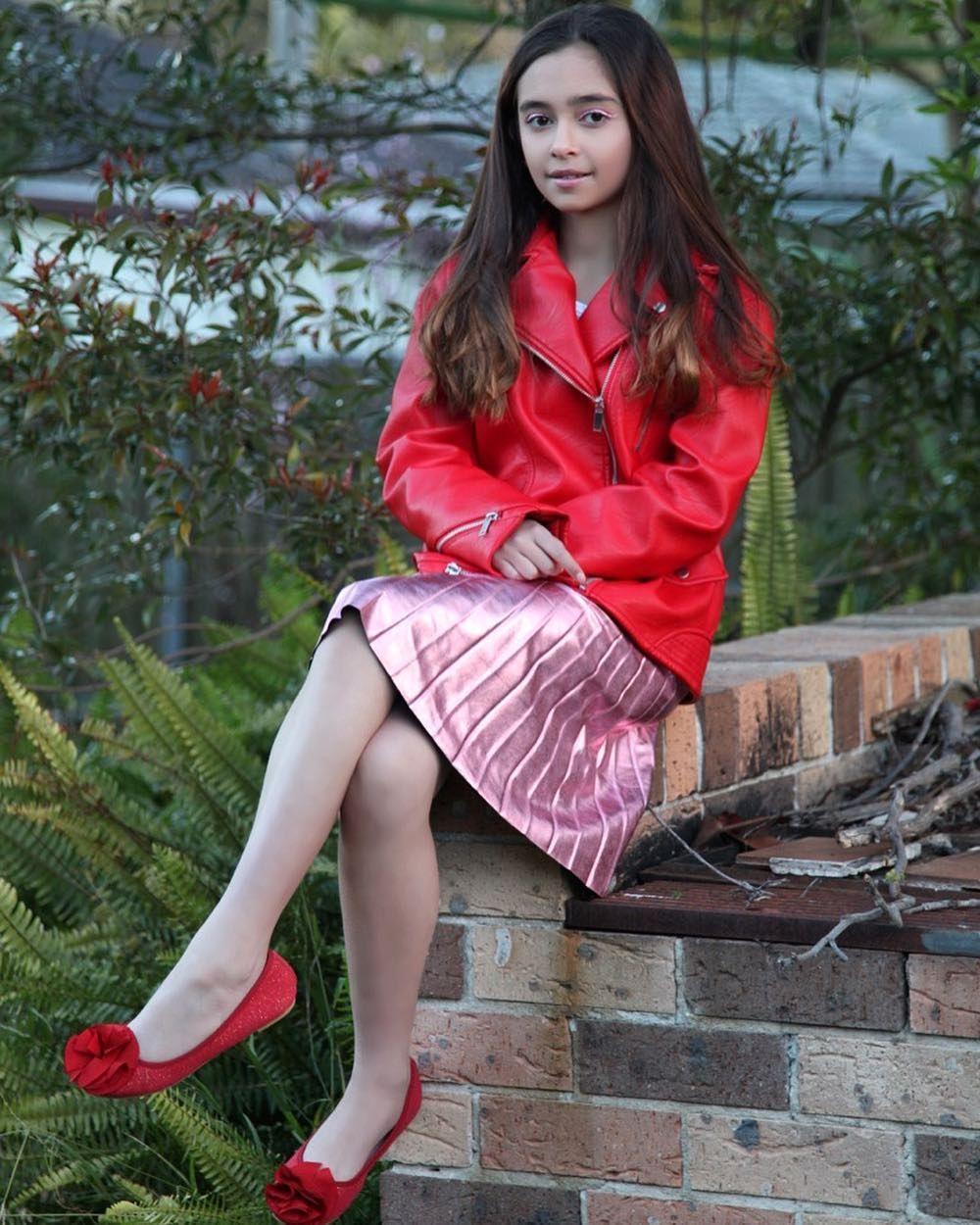 ⚠️DO NOT REPOST @scottlivia2 Photo Without My Permission...⚠️DO NOT REPOST @scottlivia2 Photo Without My Permission  .  A Red Jacket to Love ❤️  #redcolor #red #redjacket #leatherjacket #pinkmillennial #millenials #pink #pleatedskirt #skirt #redshoes #ballerinashoes #shoesaddict #kidsmodel #followme #10k #goals #followers #zara #postmyfashionkid #hypebeast #influencer #longhair #hairstyle #fashionable #fashionblogger #photooftheday #ootdfashion