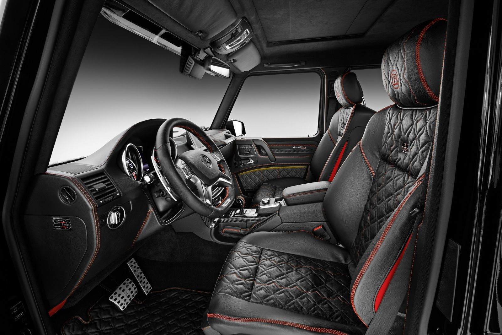 Brabus Mercedes Benz G 500 4 X 4 009 1 Jpg 1600 1067 Car