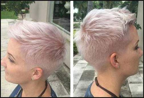 Sehr Kurze Haare Stylen Frau Anleitung Mittellange Haare