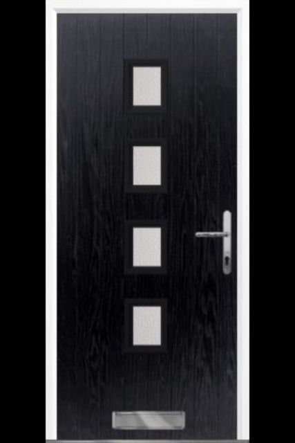 Composite Front Door Black Composite Door Front Door Uk