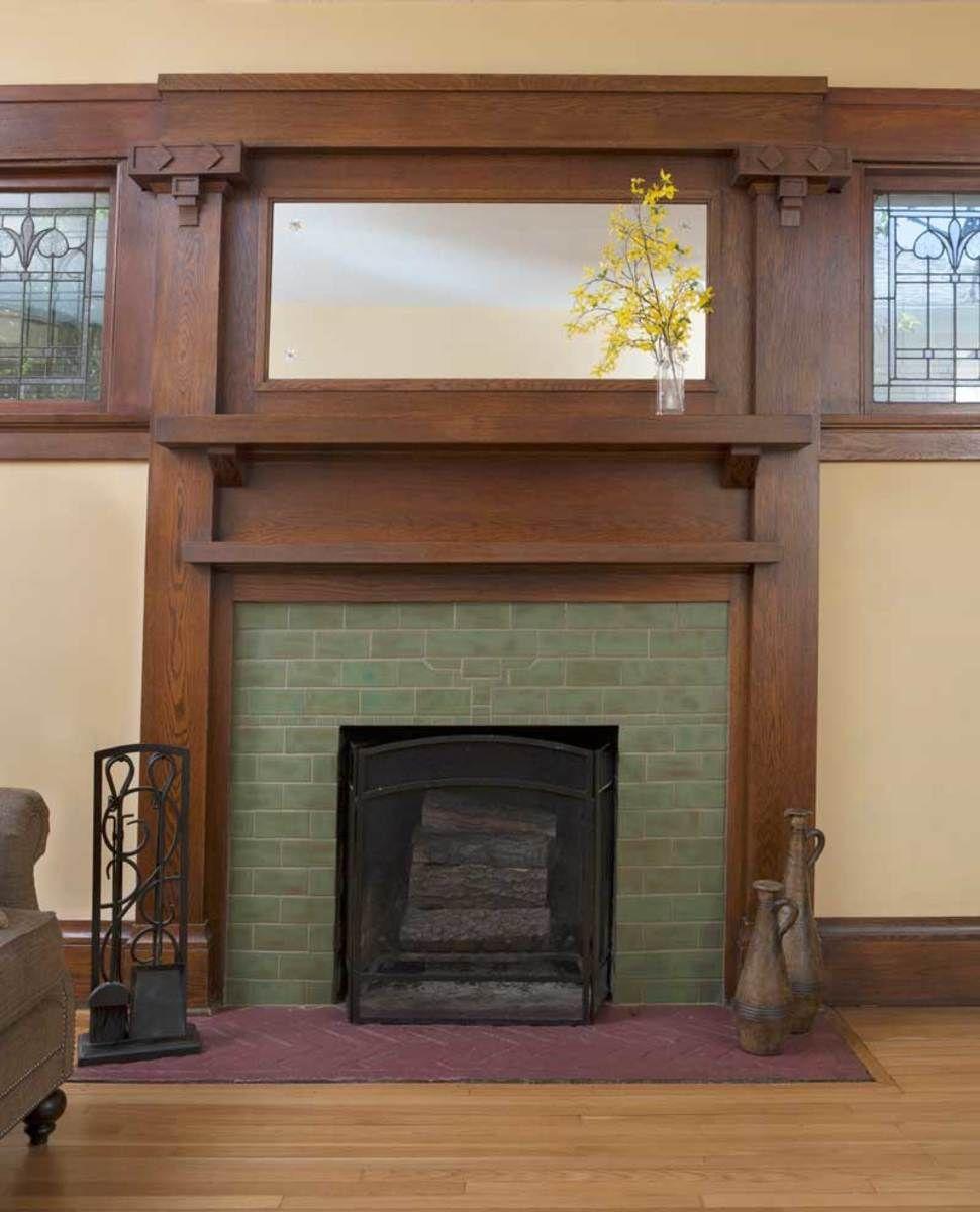 Revival Hearths Fireplace Pinterest Craftsman fireplace
