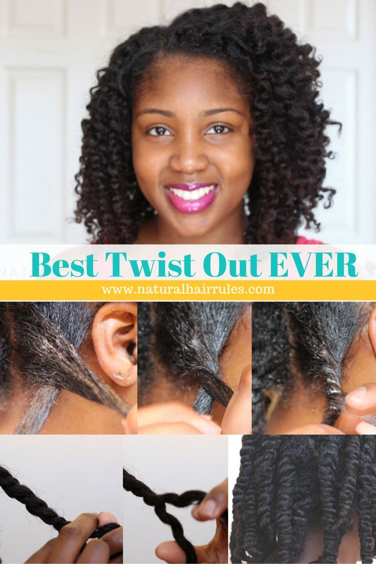 Natural hairstyle easy steps to your best two strand twist out