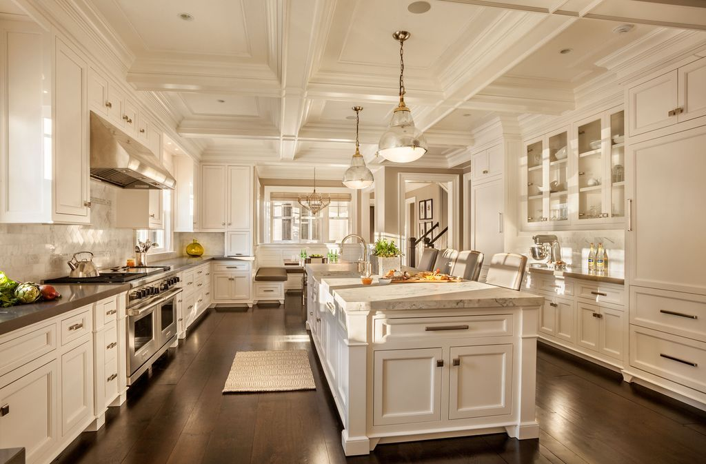 This is the ultimate kitchen island design