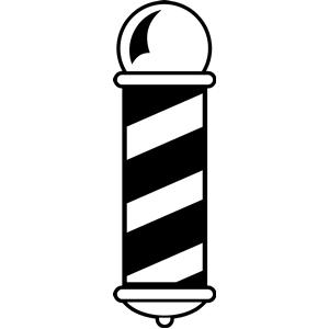 barber pole vector clipart best barber pinterest vector rh pinterest com barber shop pole logo vector barber pole stripes vector