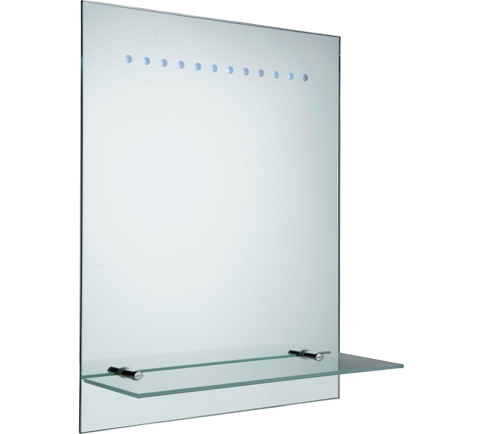 Buy Argos Home Rec Frosted Illuminated Bathroom Mirror Home Furnishings With Images Bathroom Mirror Mirror Argos Home