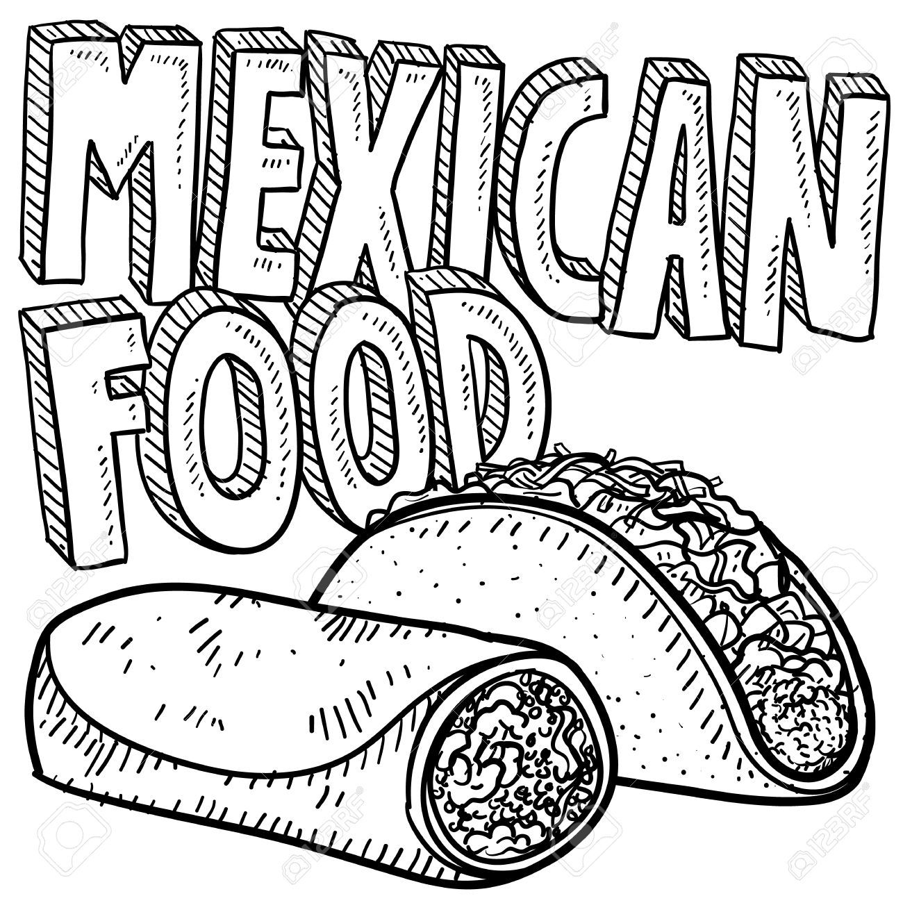 Burrito Stock Illustrations Cliparts And Royalty Free