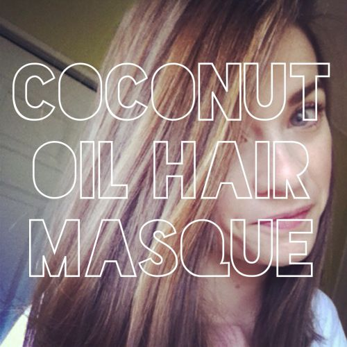 Super simple and I even have coconut oil on hand ... need to try this!
