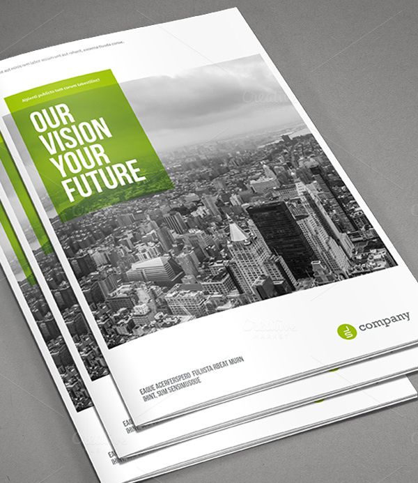 Free Brochure Photoshop Psd Templates