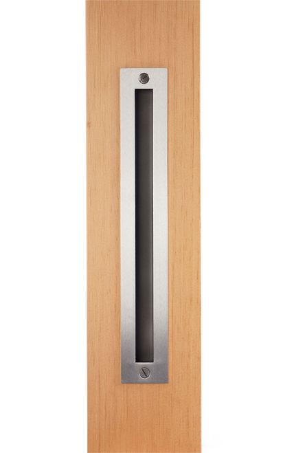 Skyrise Stainless Steel Flush Pull | Barn Door Hardware, Barn Doors And  Stainless Steel