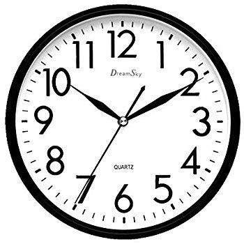 B1e1a8e7b65625378cdadee01169f760 Amazoncom Elvoki 115 Inch Wall Clock With Arabic Numerals Wall Clock Clipart Black And White 35 Wall Clock Clock Clipart Clock