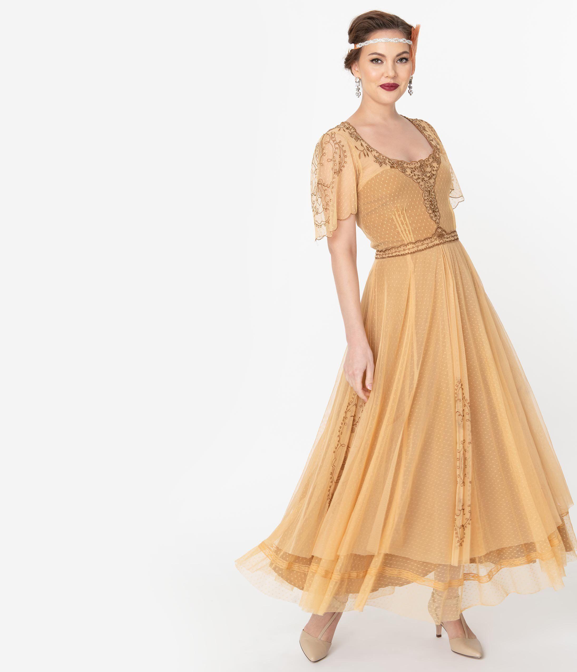 1920s Style Dresses 20s Dresses Vintage Formal Dresses Edwardian Gown Unique Dresses [ 2550 x 2190 Pixel ]