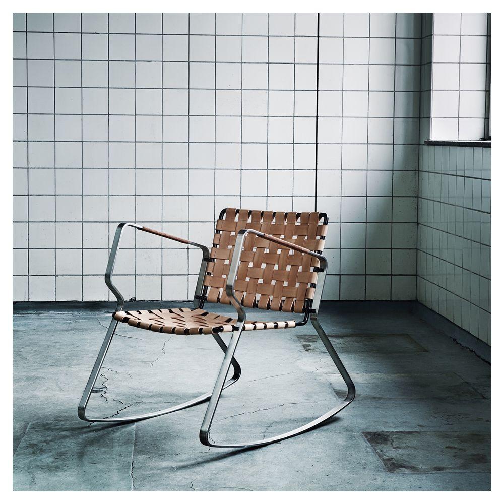 Christian Troels & Jonas Birkebæk for Danish Design Makers - Slope Rocking Chair