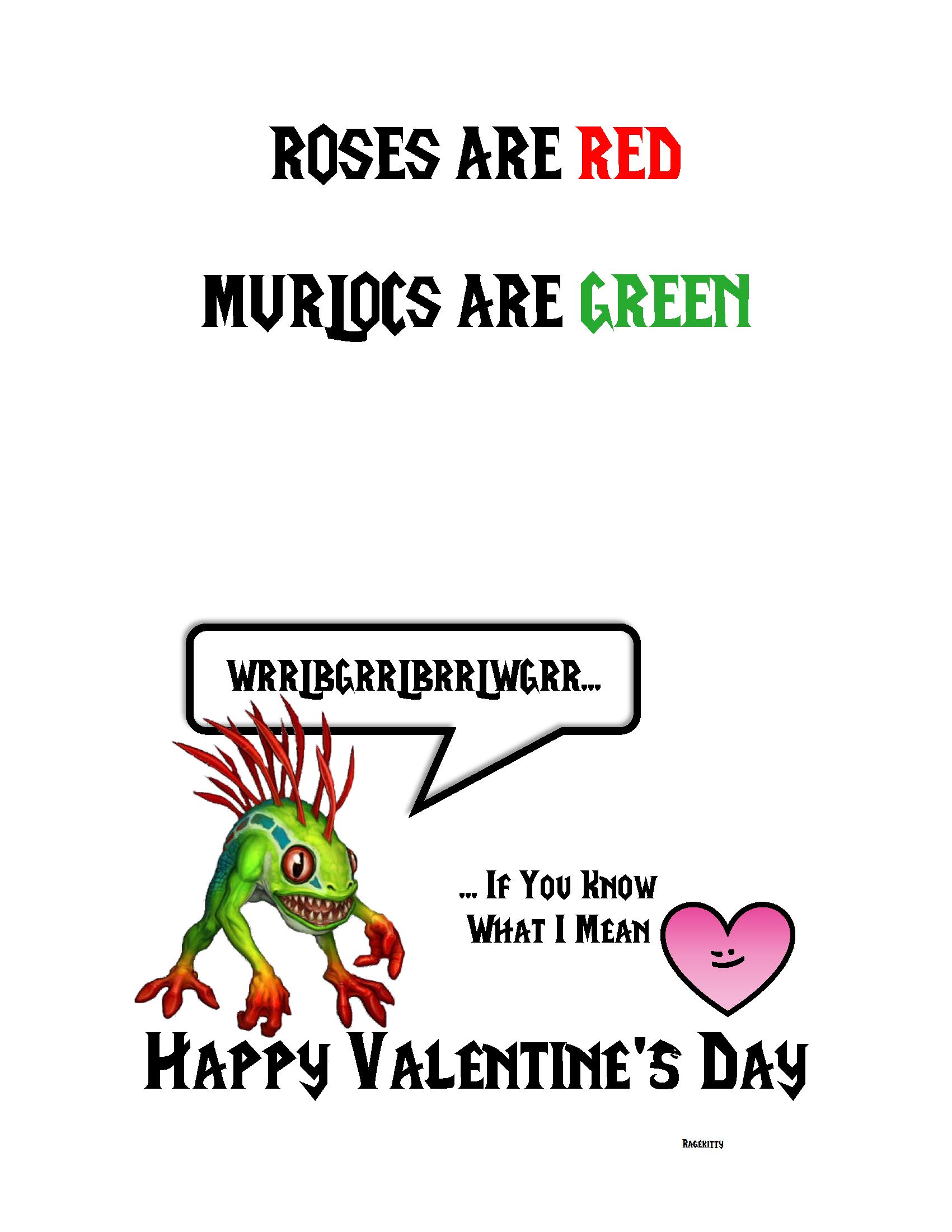 Wow Valentine I Made Imgur Warcraft Funny World Of Warcraft World Of Warcraft Game