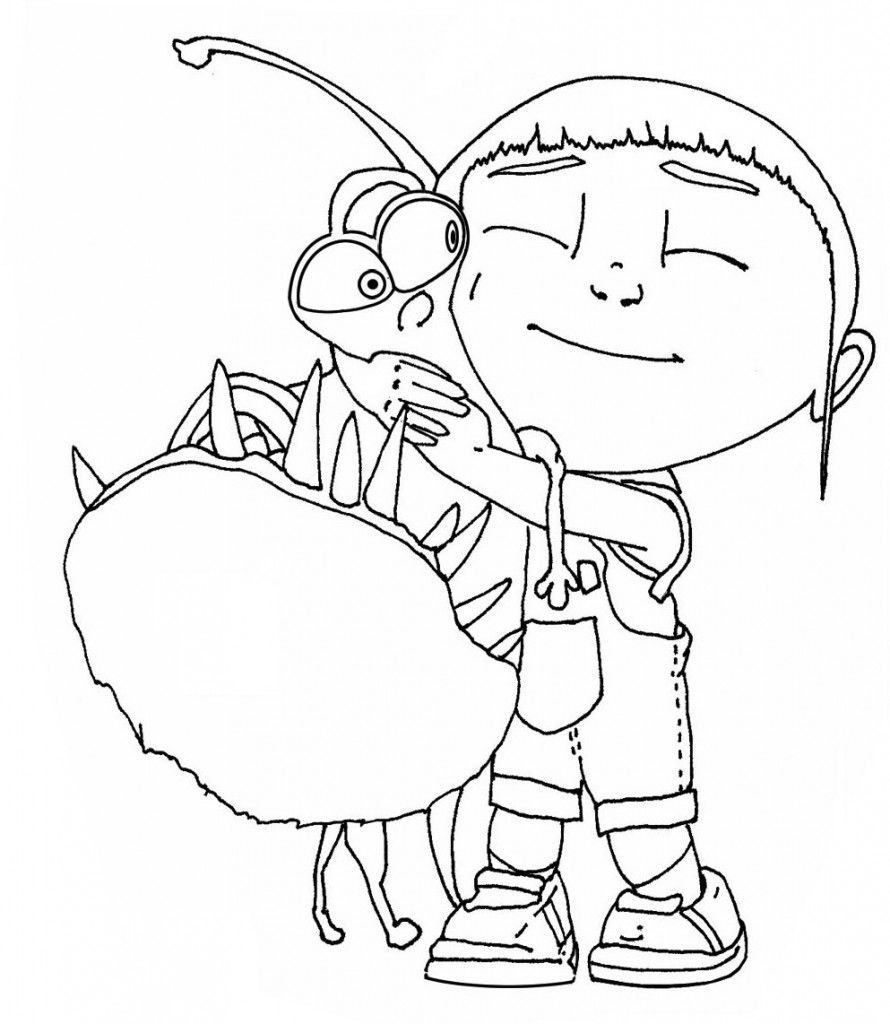 Free Printable Despicable Me Coloring Pages For Kids | Adult ...