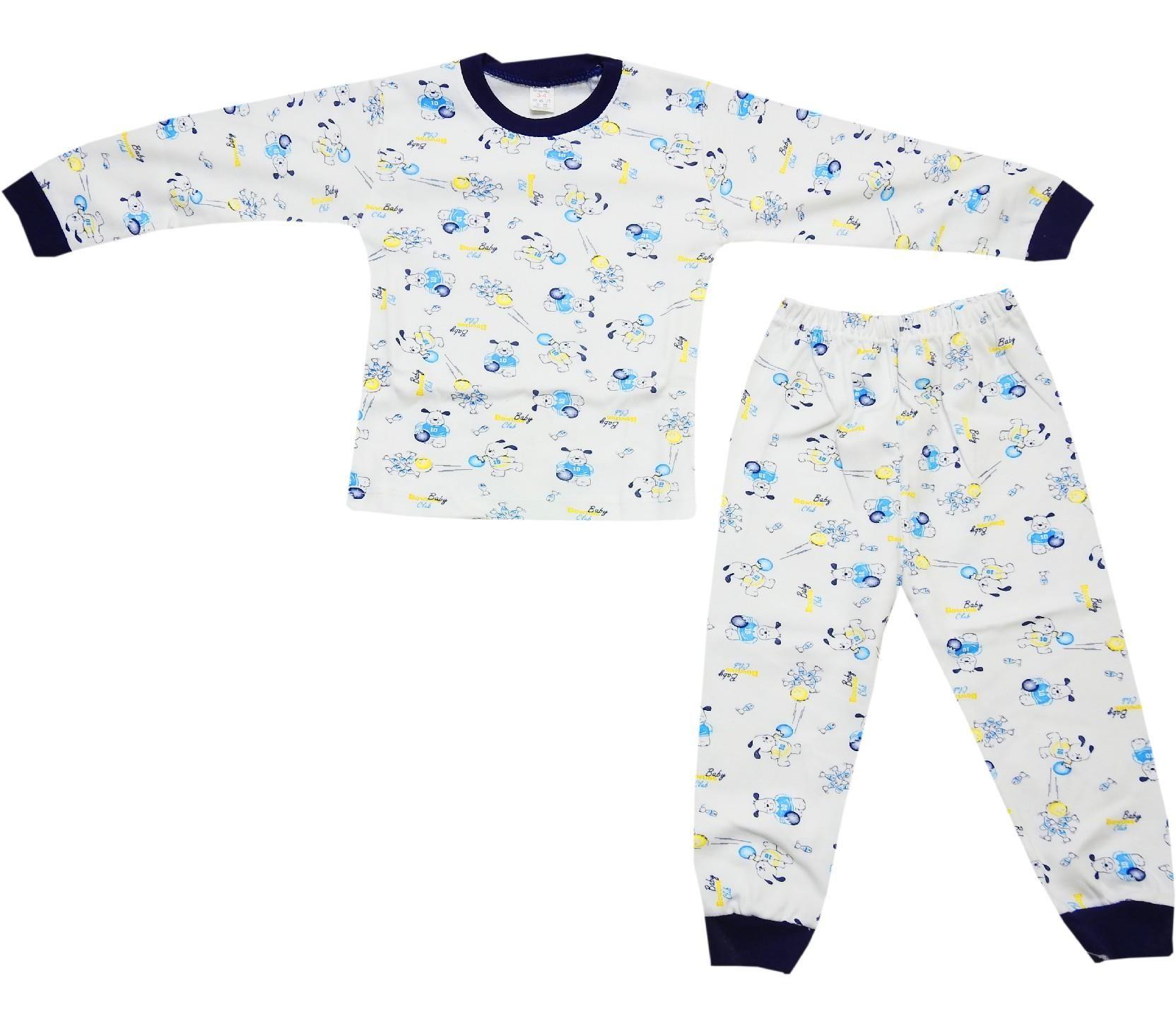 4486356d71f6 001 çocuk penye pijama takım 2-3-4