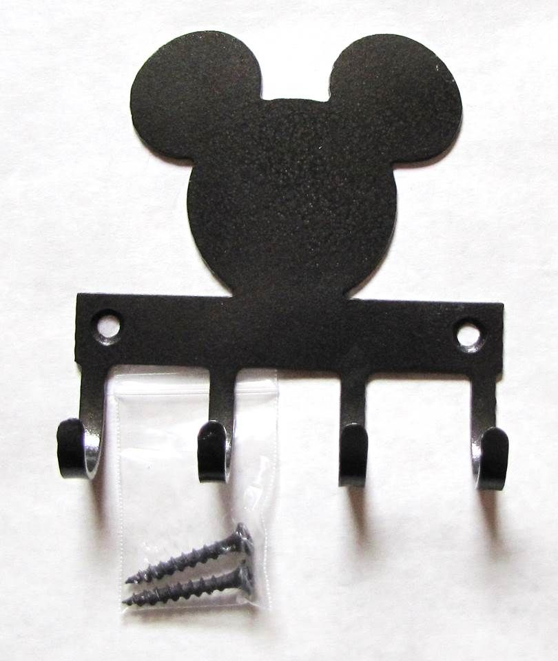 Mickey outline Metal Wall Hooks