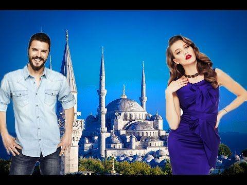 Страстная любов Серенай Сарыкая и Мехмета Гюнсюр – Турецкие актеры - YouTube