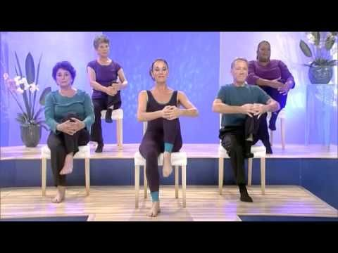 Chair Dancing Fitness Presents Simply Stretch An Easy And Free Workout To Help Stretch Your Low Back Stretching For Seniors Zumba For Beginners Senior Fitness