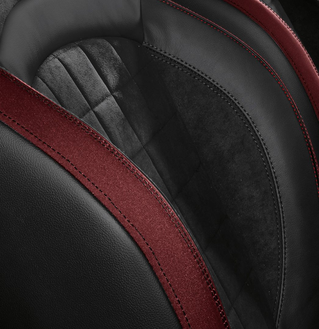 When John Cooper Raced He And The Car Became One The Available Dinamica Jcw Sport Seats Recreate That Bond Spirit John Cooper Works John Cooper Sport Seats