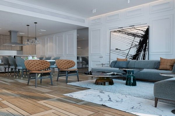 A Miami Apartment in Stormy, Muted Tones   Nice   Pinterest   Miami ...