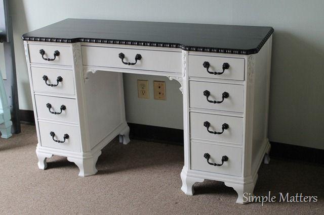 Sold Vanities And Desks Home Room Design Antique White Desk Antique Desk