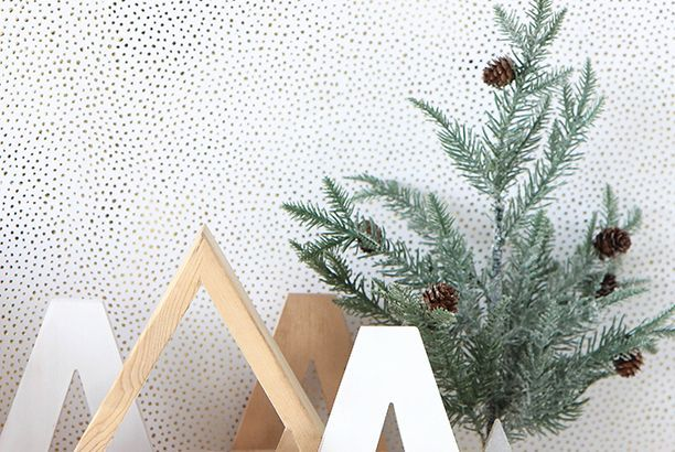 MY DIY | Wooden Holiday Trees