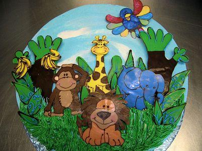 Jungle book cake Cakes Delivery Jaipur Pinterest Birthday