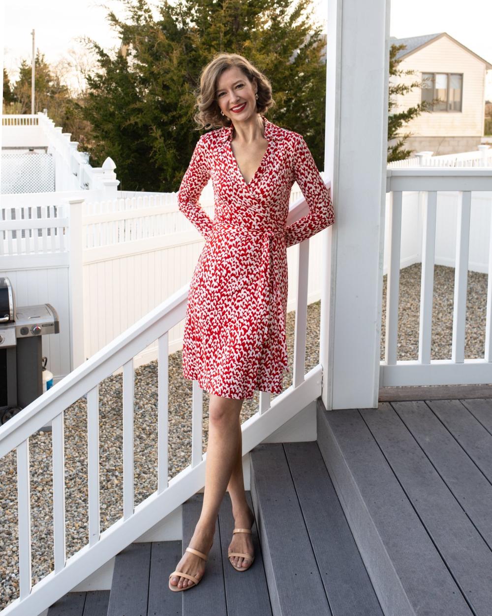 April 28 Stacie Flinner Diane Von Furstenberg Wrap Dress Wrap Dress Dress To Impress [ 1250 x 1000 Pixel ]