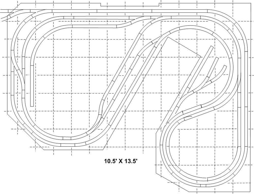 Lionel O Gauge Track Plans Track Plan Model Railroad