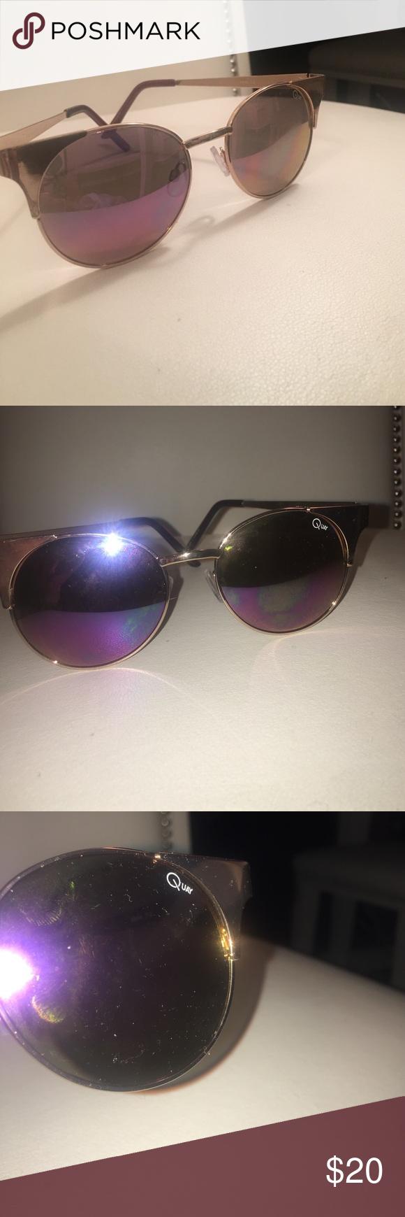 Quay Accessories   Gold Asha Sunglasses Nwt 100 Authentic