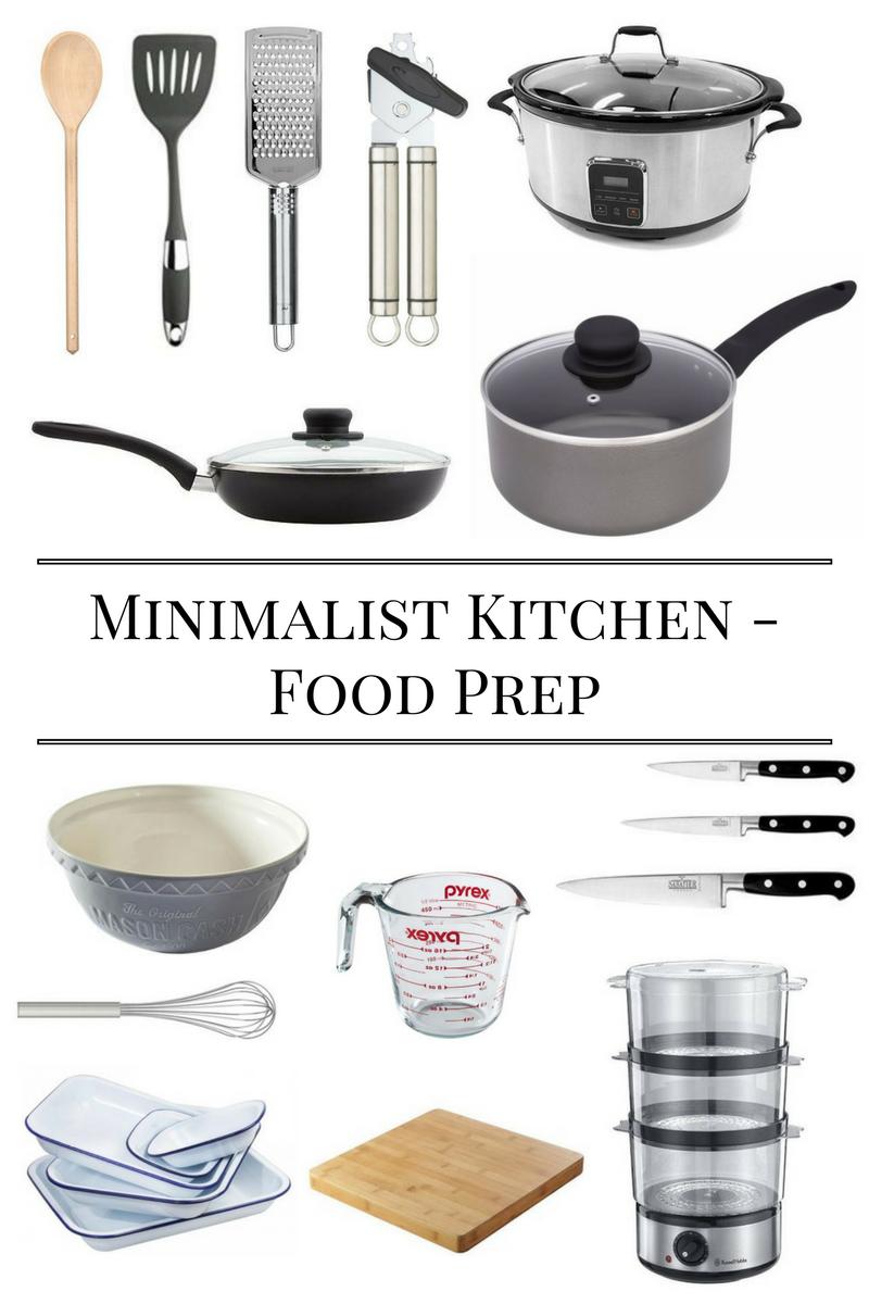 Minimalist Kitchen Essentials Checklist