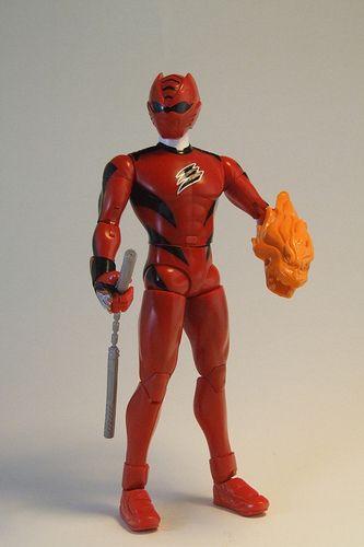 Power Rangers Jungle Fury Red Ranger figure | Wildcats ...
