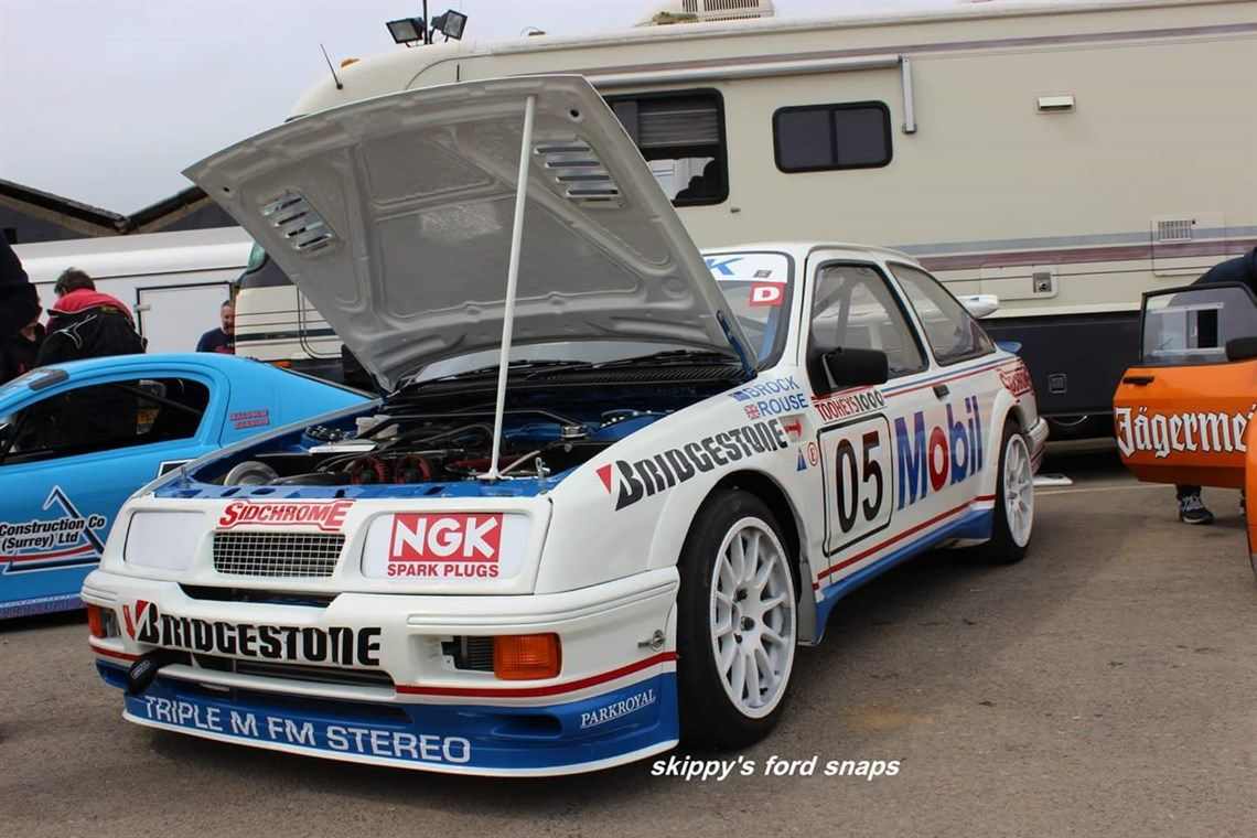 Genuine Ford Sierra Cosworth Race Car Ford Sierra Race Cars Racing