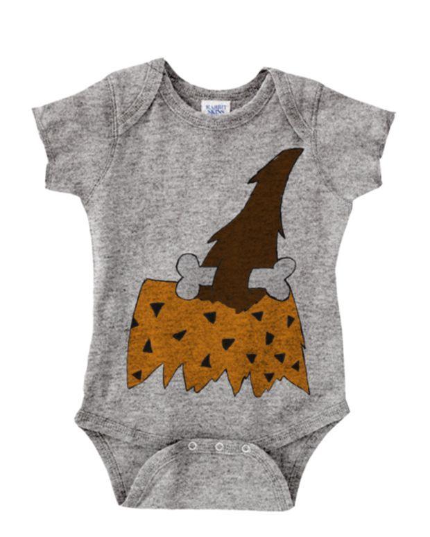 Caveman Outfit BabyGrow Funny Newborn Gift Baby BodySuit XMAS PRESENT CUTE
