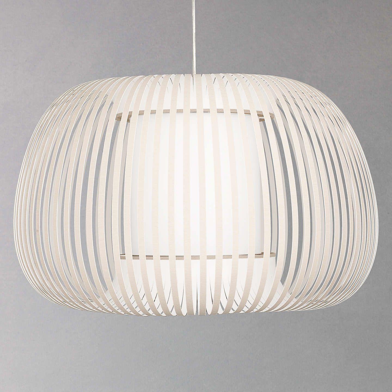 John Lewis Harmony Ribbon Pendant, Large, Natural | John lewis ... on retail lighting, ikea lighting, constellation lighting,