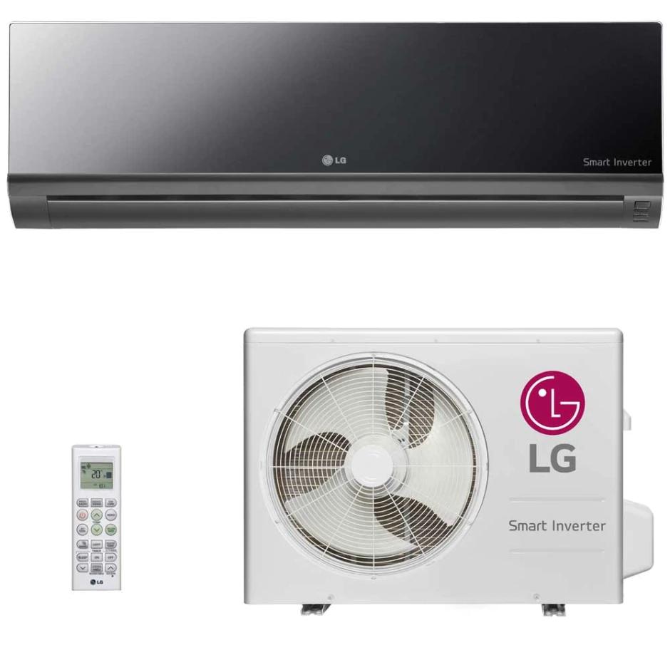 Ar Condicionado Split Inverter 9000 BTUs LG Artcool Frio