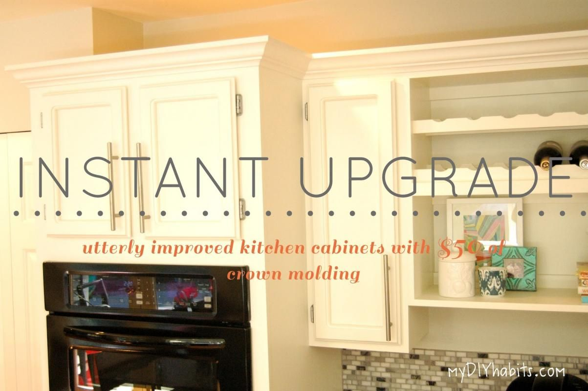 Adding Molding To Kitchen Cabinets | Kitchen | Pinterest | Moldings ...
