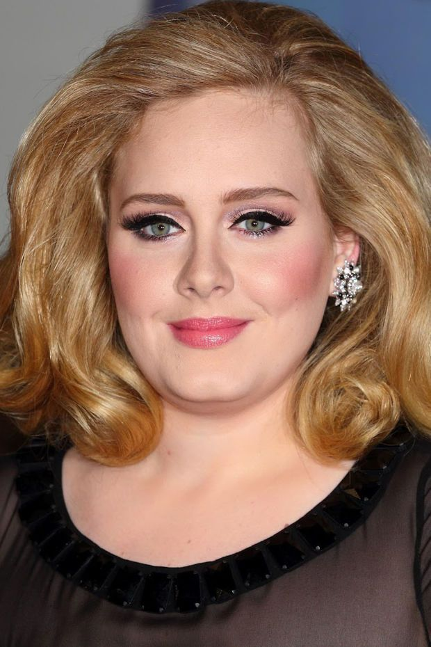 Photo of Adele, Before and After- # Adele-Adele at the Brit Awards 2012. beautyeditor.ca / …