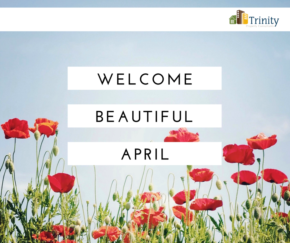 Welcome #April, we are happy to see you again! Use the new month to your advantage by taking a pledge to be more healthy, positive & productive throughout the next few weeks!