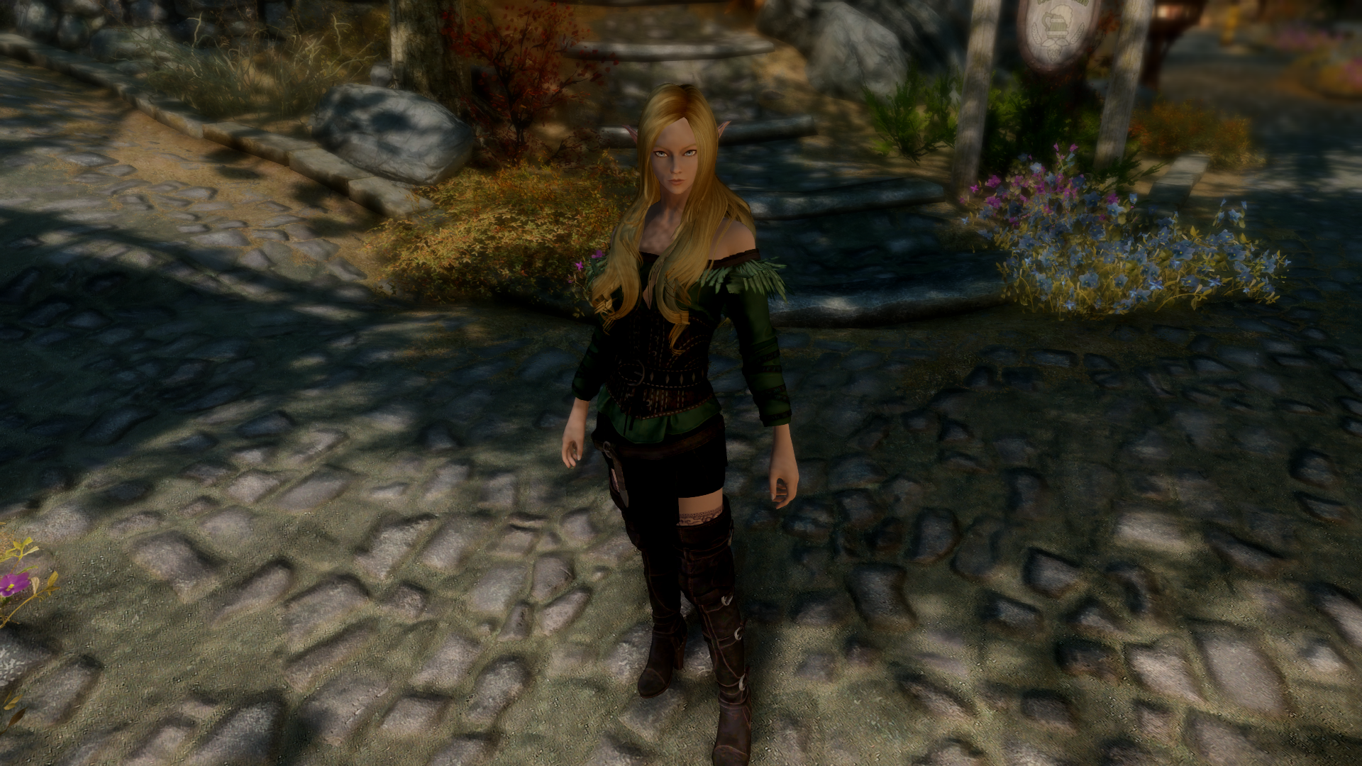 The Witcher 3 Female Armours - Standalone Colours - SSE CBBE
