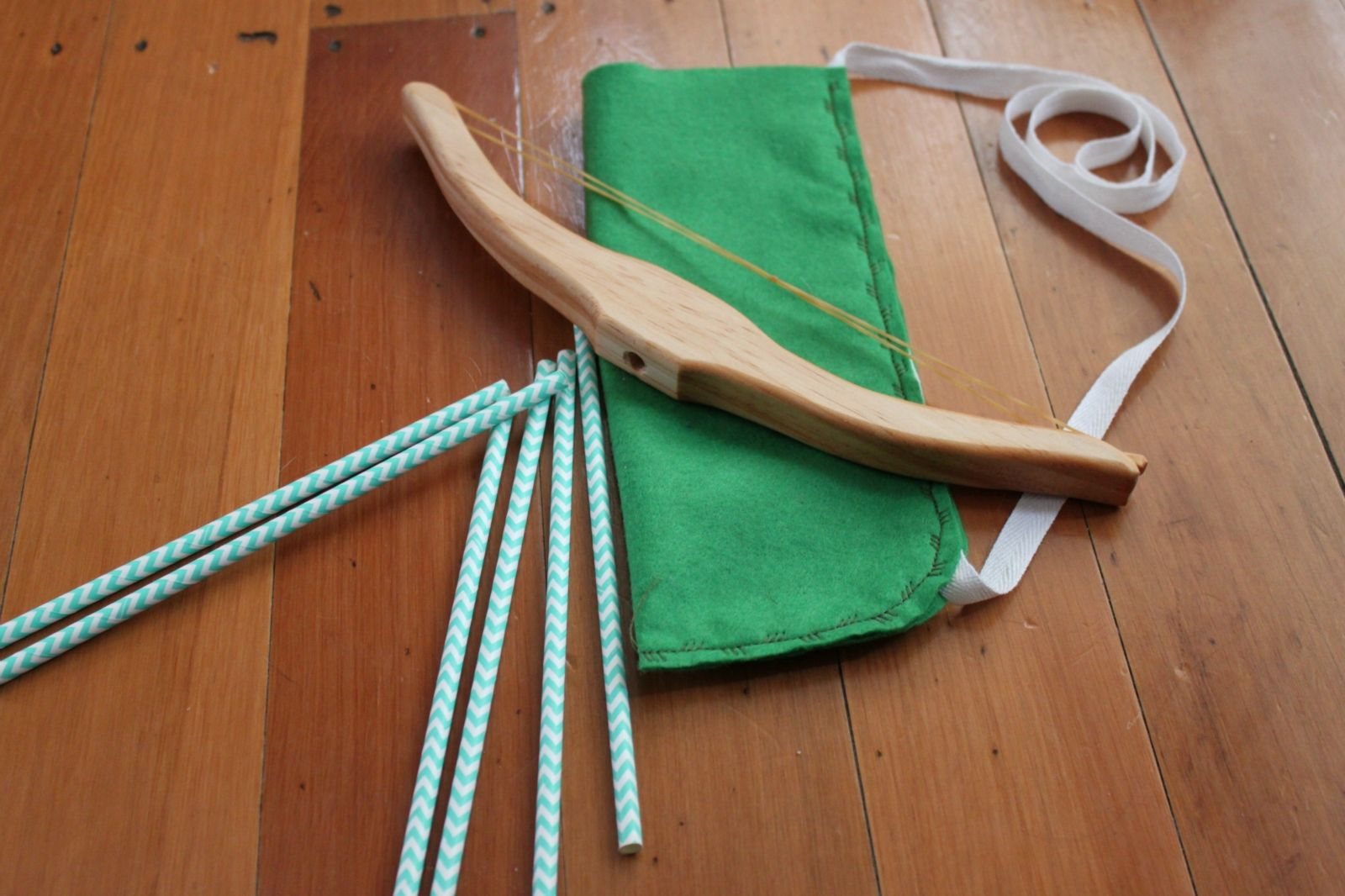 Wooden Bow + Arrow Set Bow and arrow set, Wooden bow and