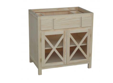 Muebles Bano Para Encastrar Lavabo.Mueble De Bano Crucetas Para Encastrar Lavabo Ideas De